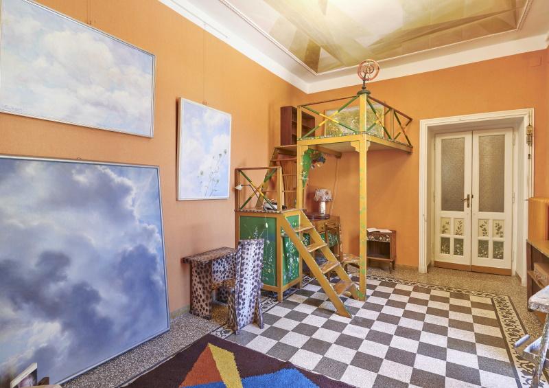 CASA BALLA, Via Oslavia  Camera di Elica / Elica's room  Foto M3Studio Courtesy Fondazione MAXXI © GIACOMO BALLA, by SIAE 2021