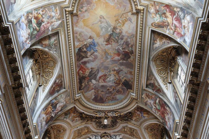 Baciccio, Foto Basilica Santi Apostoli @basilica.santi12apostoli