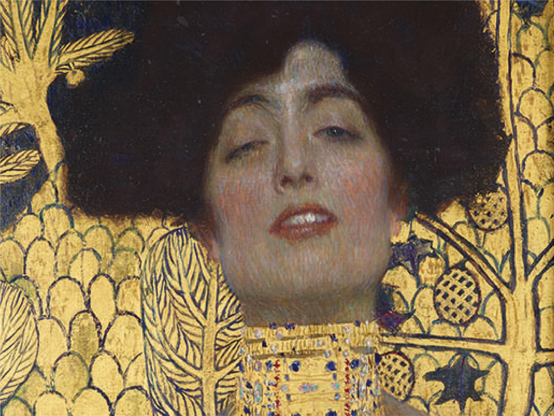Gustav Klimt, Giuditta, particolare