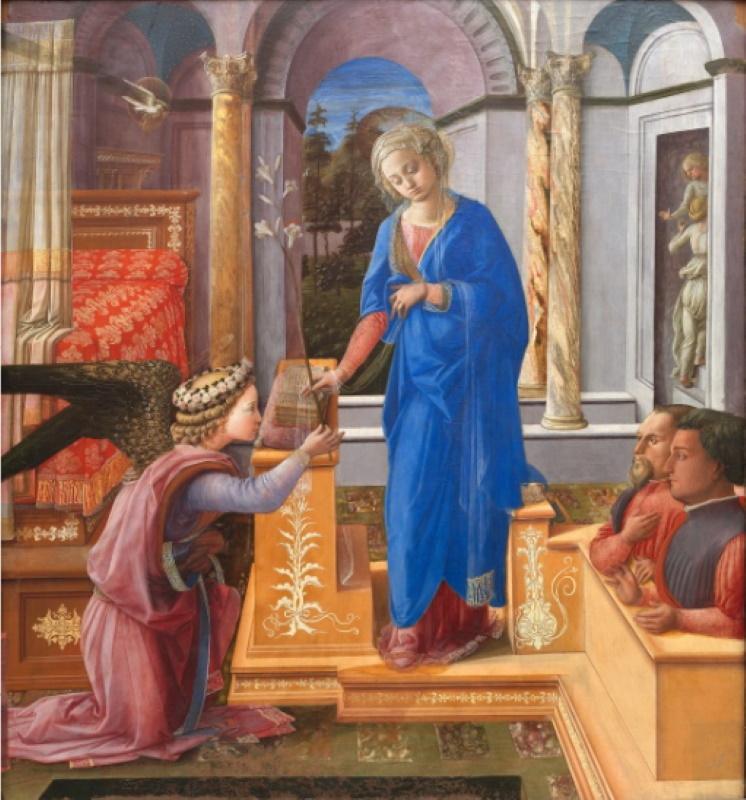 Annunciazione, Filippo Lippi