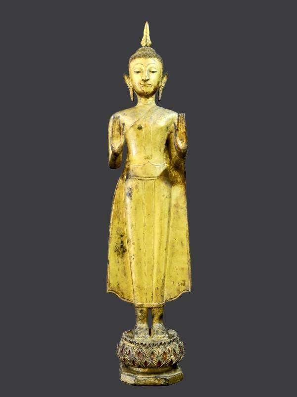Buddha in abito monastico sec. XVIII