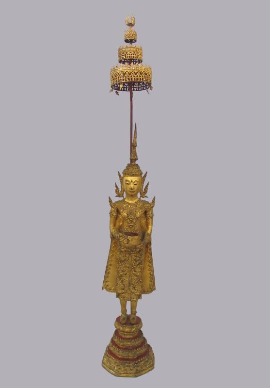 Buddha in paramenti regali sec. XIX