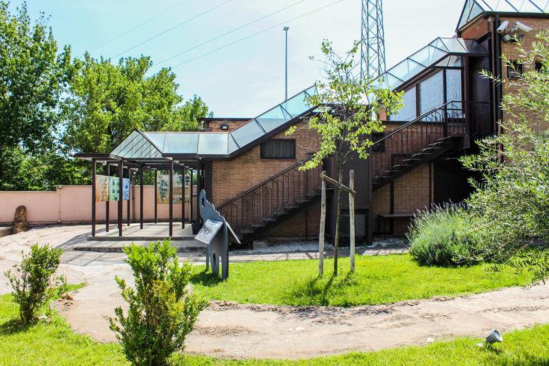 Museo di Casal de' Pazzi - esterno