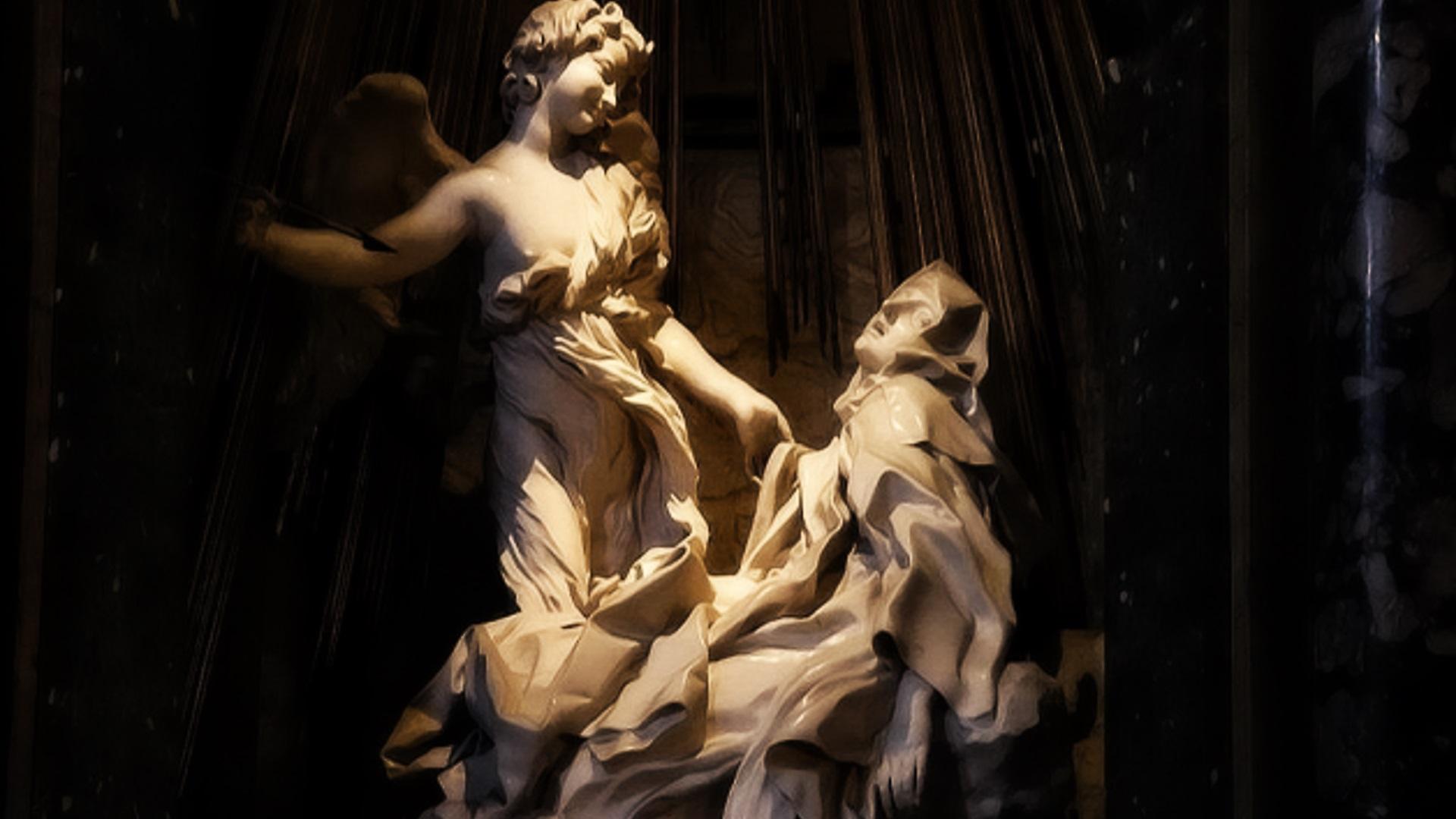 Estasi di Santa Teresa d'Avila, Gian Lorenzo Bernini, Chiesa di Santa Maria della Vittoria, Roma