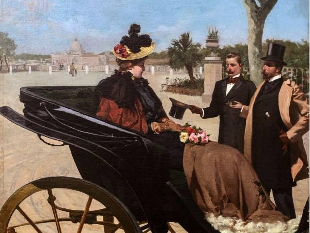 Fabio CIpolla, Pincio, 1870 circa, Firenze, collezione privata