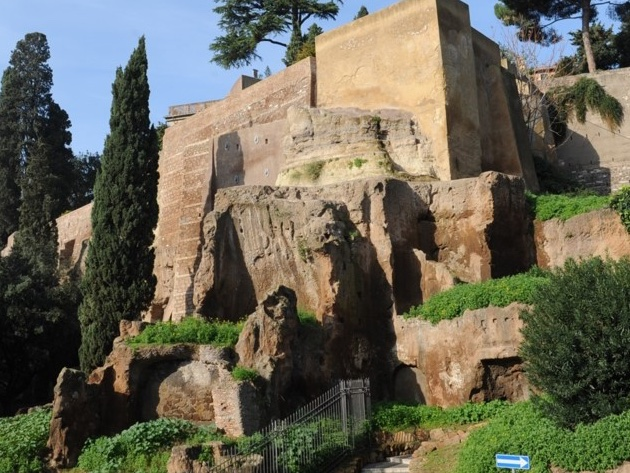 Giardini del Campidoglio foto Sovrintendenza Capitolina