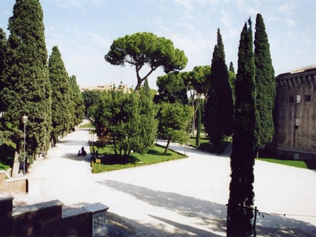 Giardini di Castel Sant'Angelo - Parco della Mole Adriana foto sito ufficiale
