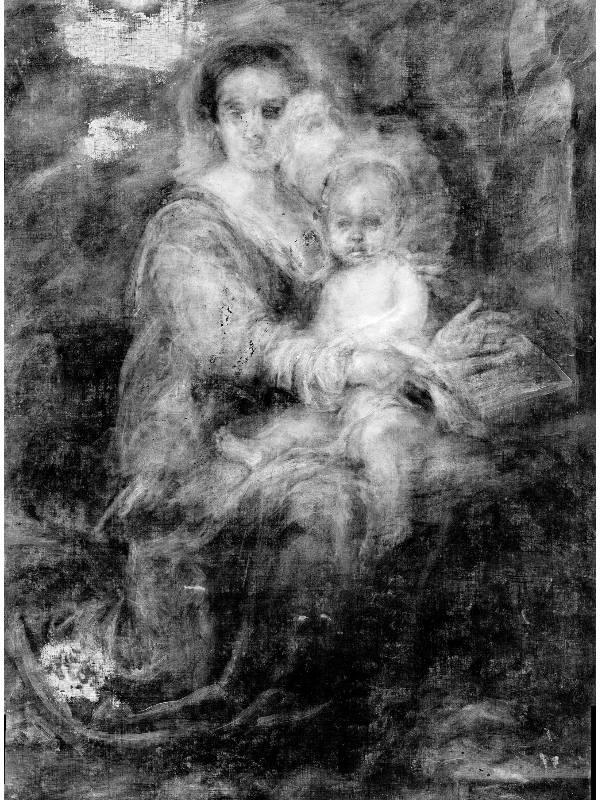 Madonna del Latte - radiografia