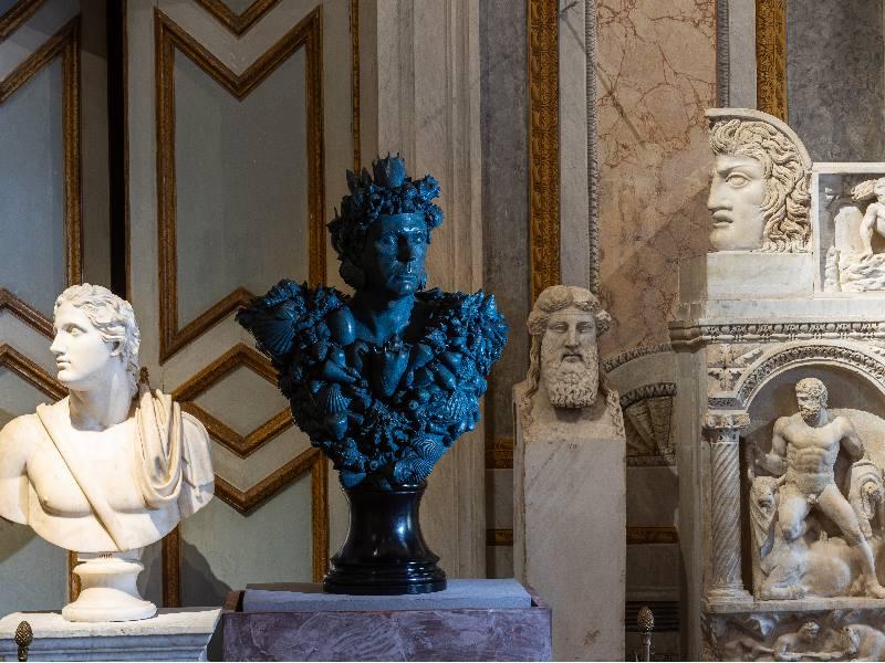 Neptune, 2011, Collezione privata, ph. A. Novelli, Novelli © Galleria Borghese – Ministero della Cultura © Damien Hirst and Science Ltd.