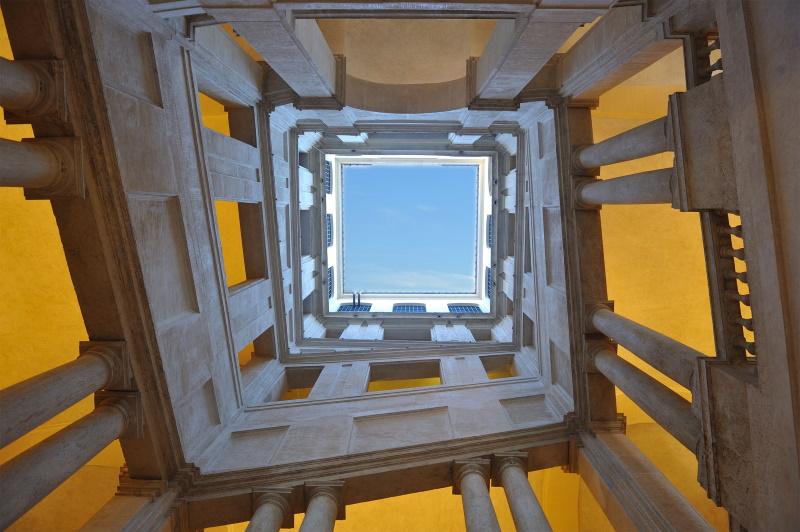Scalone quadrato, Gian Lorenzo Bernini - Foto Alberto Novelli @BarberiniCorsini