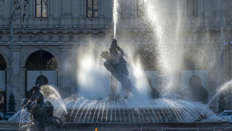 Fontana delle Naiadi - Piazza della Repubblica