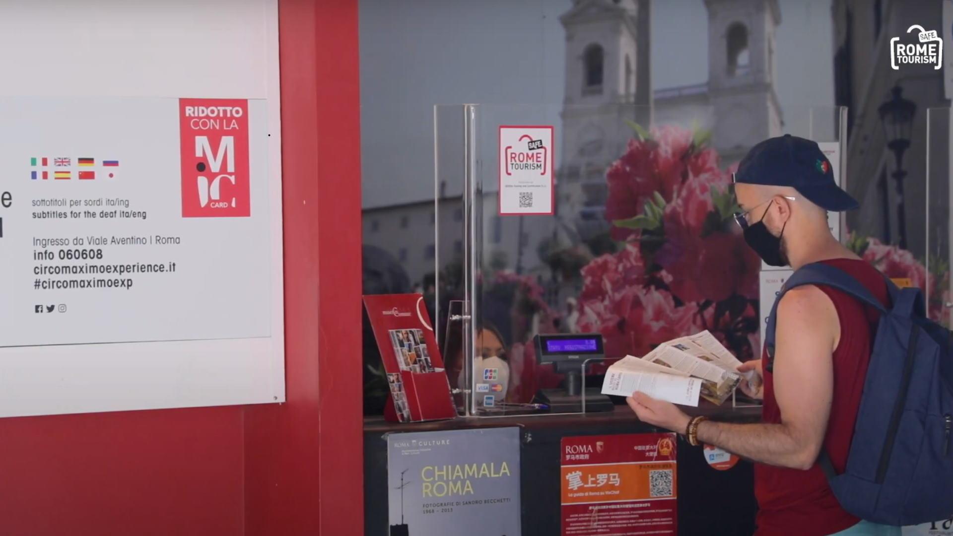 Rome Safe Tourism Tourist Infopoint Fori Imperiali