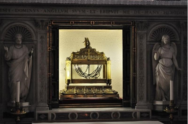 San Pietro in Vincoli - Catene di San Pietro