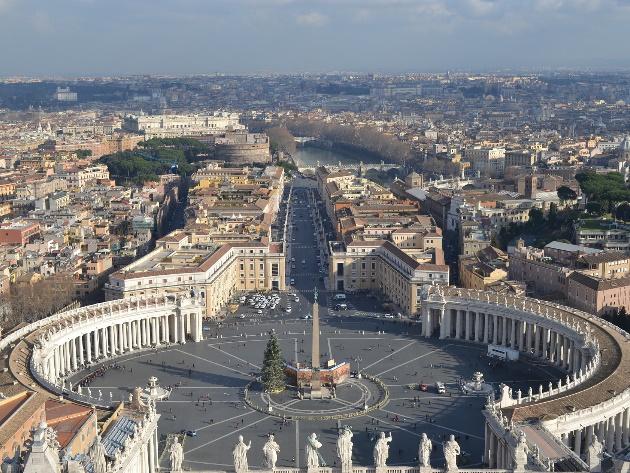 San Pietro panoramica