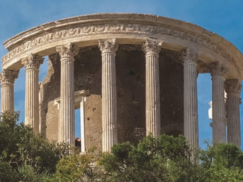 Tempio di Vesta-ph. visittivoli Official website-Assessorato  Cultura e Turismo Tivoli