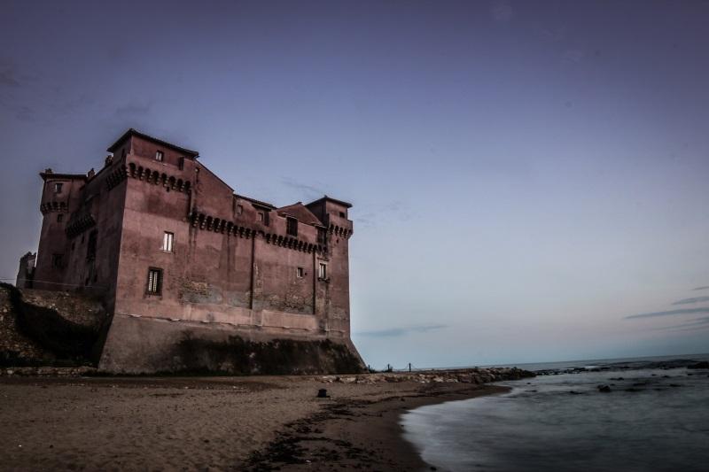 Castello di Santa Severa visto dal mare