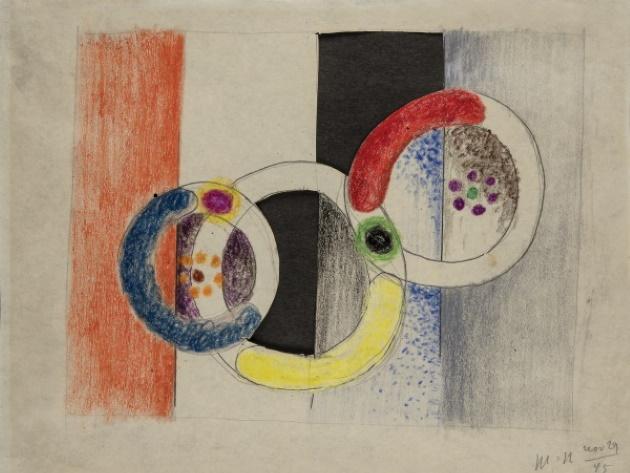 Moholy-Nagy László, Modulatore spaziale, 1945, Debrecen, Collezione Antal – Lusztig