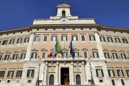 Palazzo di Montecitorio ph. Camera dei Deputati Portale Storico Official