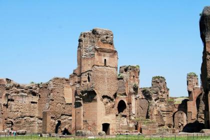 Terme di Caracalla foto Sovrintendenza