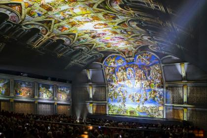 GIUDIZIO UNIVERSALE. Michelangelo and the Secrets of the Sistine Chapel