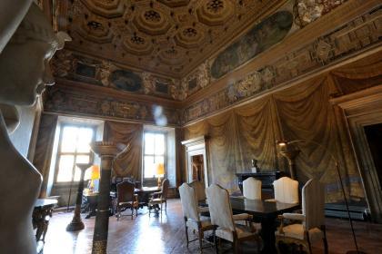 Palazzo Farnese, Camera del Cardinale - © Eric Vandeville - Ambassade de France