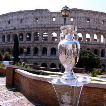 Foto Account Ufficiale Facebook Roma UEFA EURO 2020