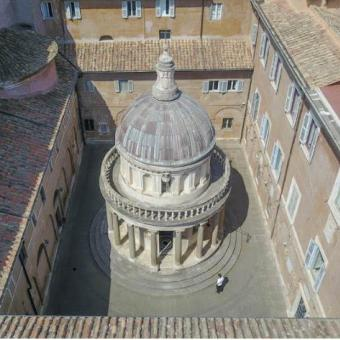 Tempietto del Bramante foto Real Academia de España en Roma
