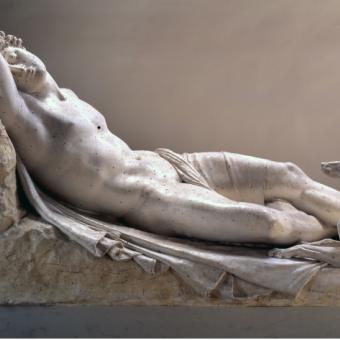 Endimione dormiente, 1819, Gypsotheca e Museo Antonio Canova, Possagno, Archivio Fotografico interno - Foto di Lino Zanesco