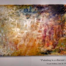 """Frank Holliday """"Magical Thinking"""", 2016, olio su tela, 250 x 209 cm"""