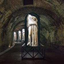 Plessi a Caracalla. Il segreto del tempo. Ph. E. Giovinazzo