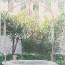 Raffaele Arringoli, Villa Borghese - il pozzo del Museo Canonica