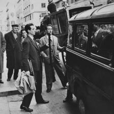 Il funerale del padrino, Palermo, Sicilia 1968 ca.