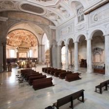 Interno della Basilica di San Pietro in Vincoli