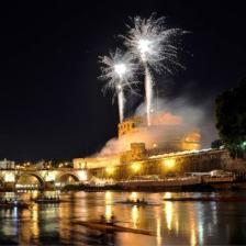 """Castel S.Angelo Ph. Maurizio Belisario/concorso fotografico Touring """"Monumenti d'Italia"""""""