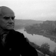 Sandro Becchetti, Alberto Moravia, Roma (1970-1979)