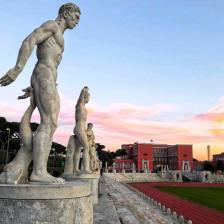 """Stadio dei Marmi Ph. Valentina Tonutti/concorso fotografico Touring """"Monumenti d'Italia"""""""
