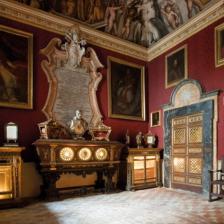 Stanze di San Filippo Neri - La camera rossa