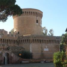 Borgo di Ostia antica