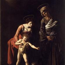 Madonna dei Palafrenieri - Foto galleriaborghese.beniculturali.it