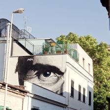 Pasolini graffiti by MauPal