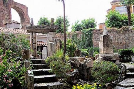 Basilica Hilariana al Celio foto sito ufficiale
