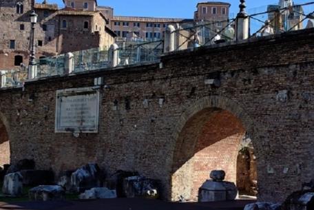 Basilica Ulpia nel Foro di Traiano Foto Sovrintendenza