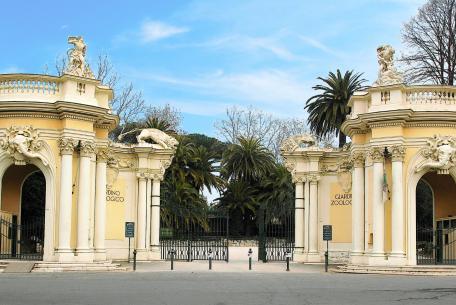 Bioparco portale monumentale@Massimiliano Di Giovanni – Archivio Bioparco