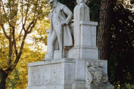 Fontana Monumento a Giuseppe Gioachino Belli ph Sovrintendenza Capitolina ai Beni Culturali