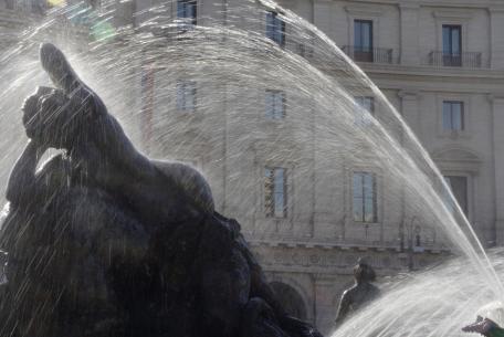 Fontana delle Naiadi, piazza della Repubblica, Roma