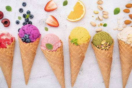 Il gelato artigianale