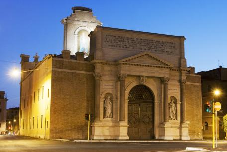 Porta Pia e il Museo Storico dei Bersaglieri