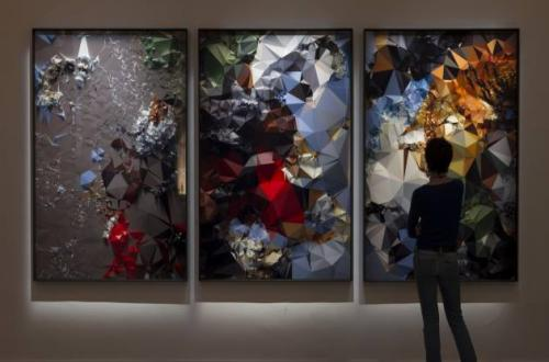 Quayola, Iconographies #20: Tiger Hunt after Rubens, 2014 - Serie di stampe a getto d'inchiostro