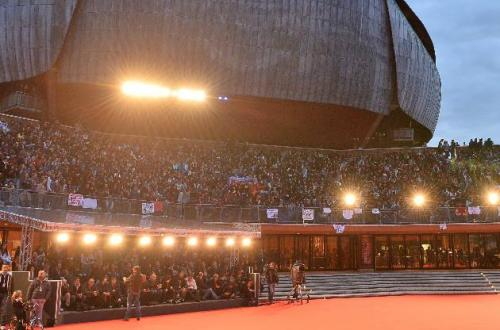 Auditorium Parco della Musica, red carpet, credit Getty Images