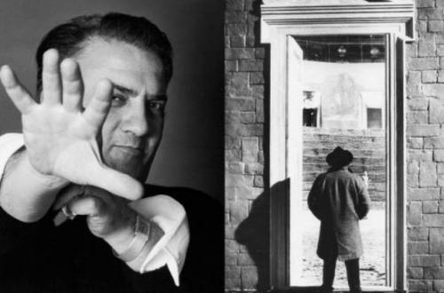 Ri-tratto Rosso  - Elisabetta Catalano guarda Federica Fellini ph Cinecittà Official Website